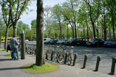 Как взять напрокат велосипед в Париже