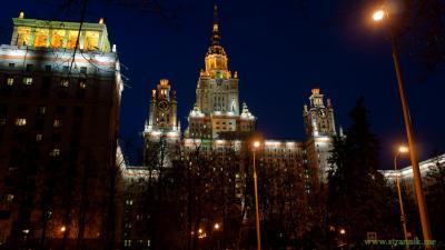 Предновогодняя Москва-3 МГУ
