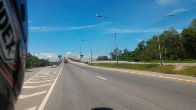 И снова в дорогу на мотоцикле