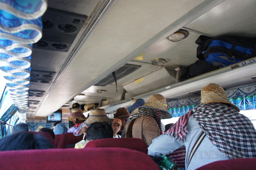 Автобус Пойпет - Пном Пень