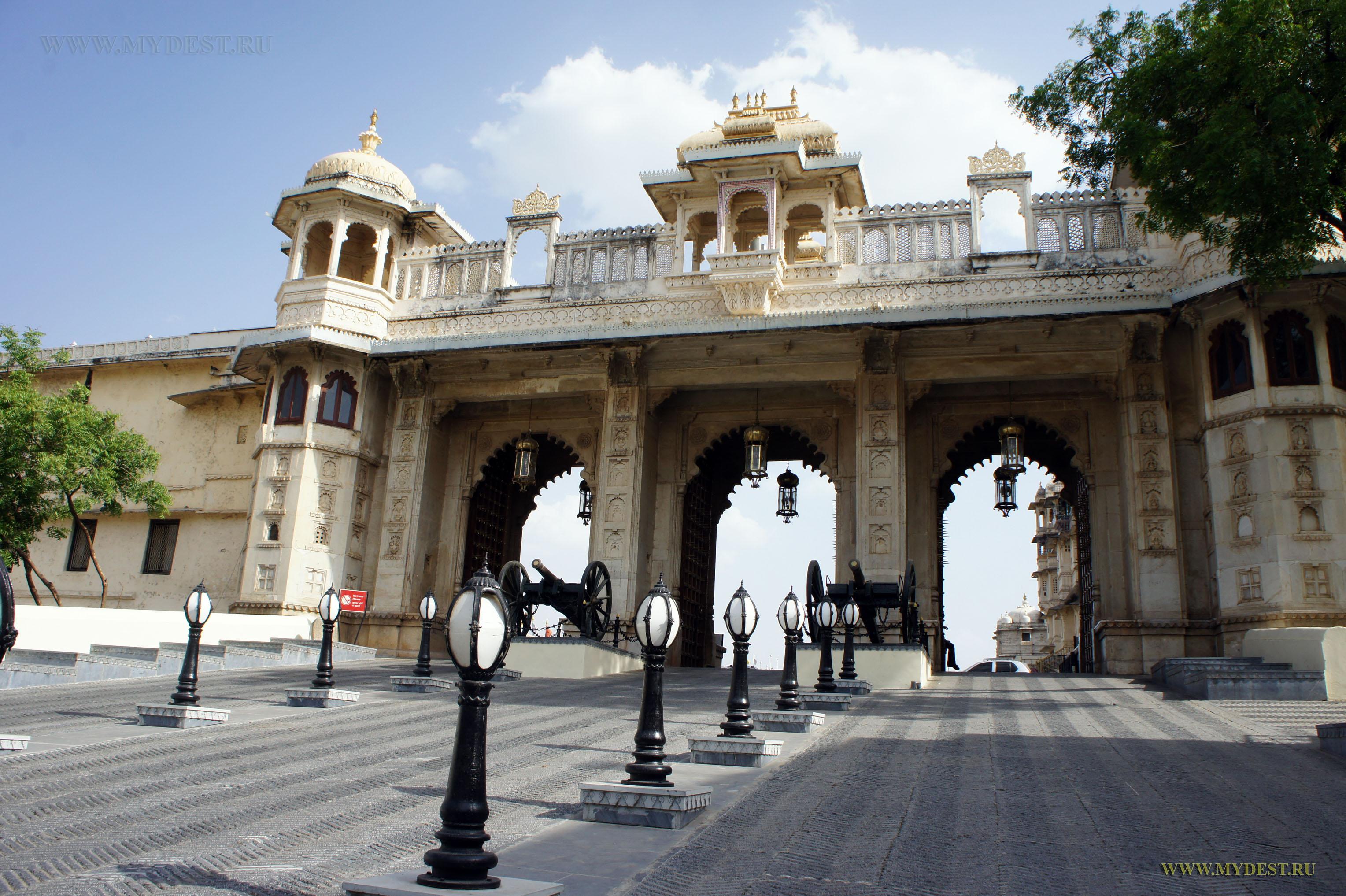 Дворец в Удайпуре