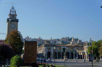 Милан и Бергамо