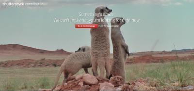 Ещё одна забавная страница 404