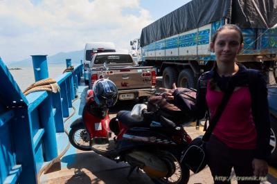 На мотобайке - на остров Чанг