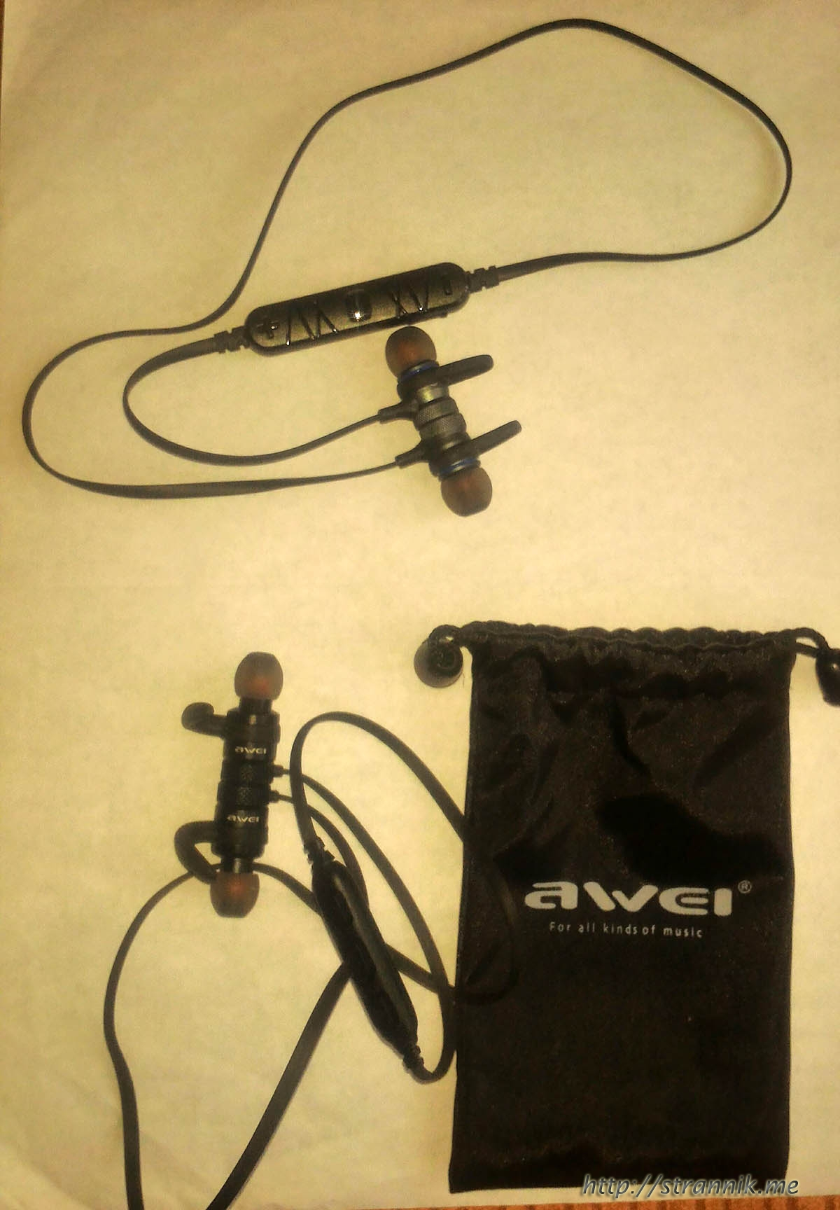 Беспроводная гарнитура Awei A920BL и Awei A920BLS - в чём отличия