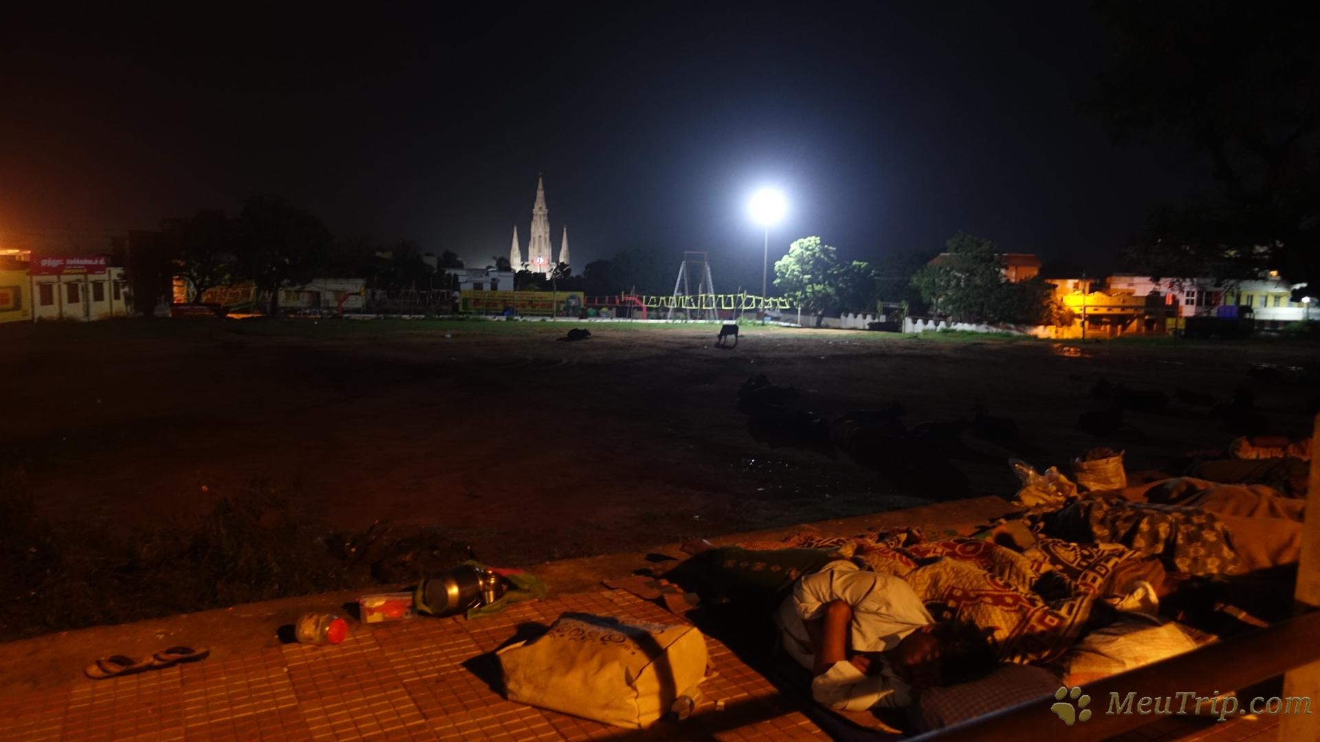 Каньякумари (Kanyakumari) - самая южная точка Индии
