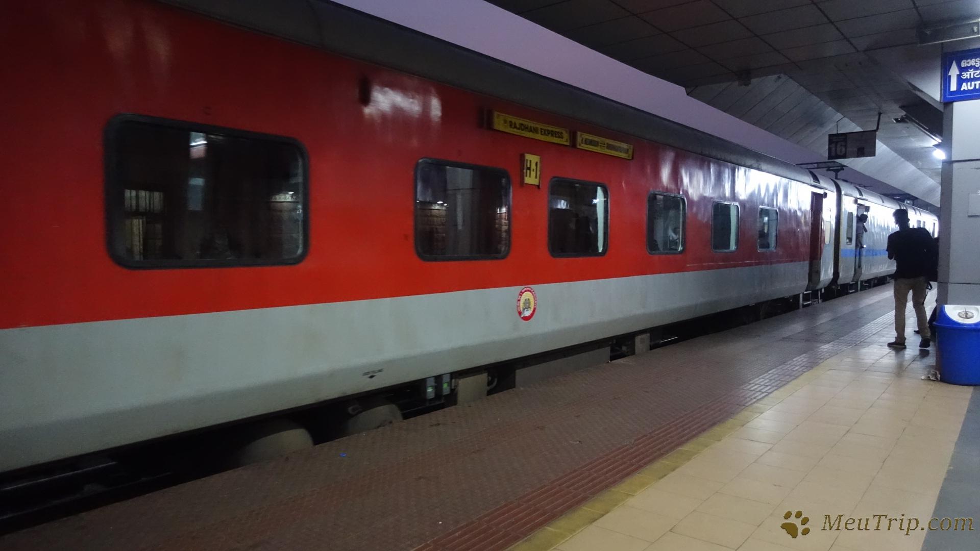 Сравнение 1 класса поезда в России и 1 класса Rajdhani express в Индии