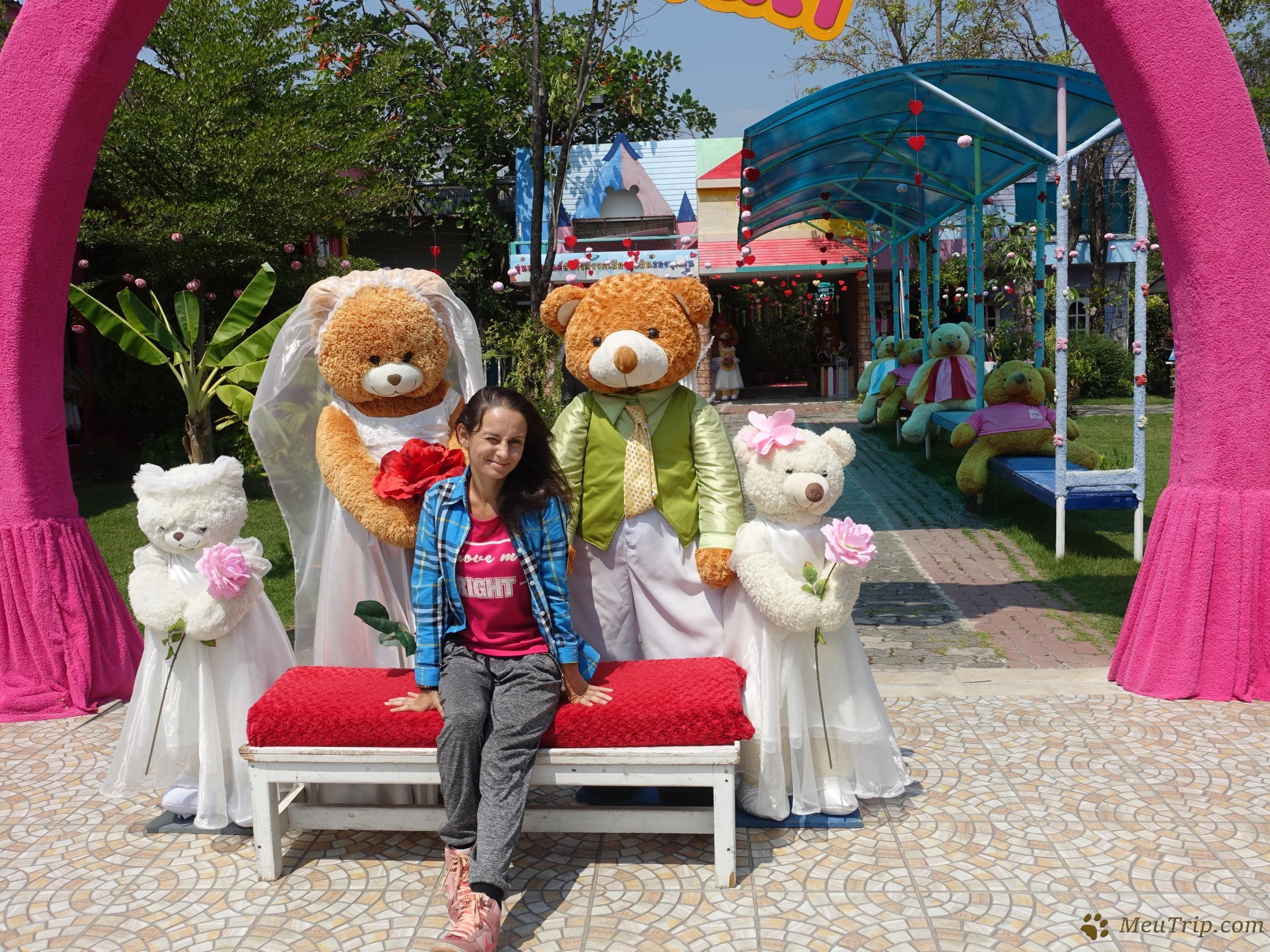 Supan Buri; мир плюшевых медведей